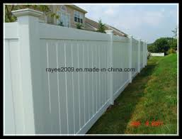 China Lifetime Warranty Premium Landscape Vinyl Fence Panels Cheap Yard Fencing China Fence Panels Cheap Yard Fencing