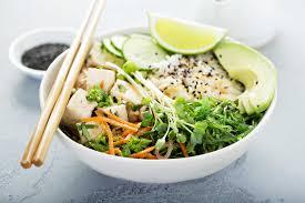 Seafood Buddha Bowl - Crab