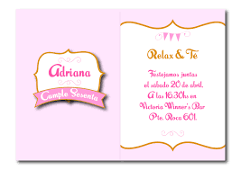 Invitaciones De Cumpleanos Para Mujer Wallpaper En Hd Gratis 5