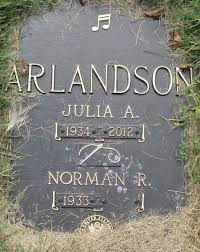 Julia Adele Peterson Arlandson (1934-2012) - Find A Grave Memorial