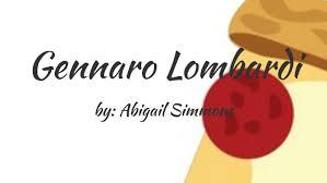 Gennaro Lombardi by Abigail Simmons