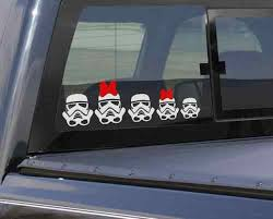 5 Pc Star Wars Stormtroopers Family Car Vinyl Decal Set Car Decals Vinyl Star Wars Love Star Wars Nerd