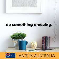 Do Something Amazing Removable Wall Decal Sticker Ms0104vc Etsy