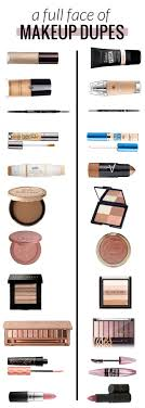 makeup dupes half high end half