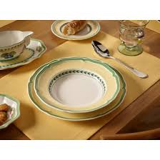 french garden vienne soup plate
