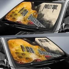 Motley Crue Car Auto Sun Shade Guitar Rock Band Fan Wear Wanta