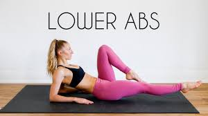 10 min lower abs workout how to burn