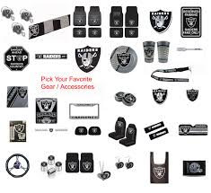 New Nfl Oakland Raiders Pick Your Gear Car Truck Accessories Official Licensed Ebay