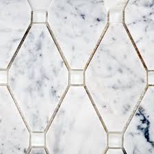Abigail Stone & Glass Carrara White Glass – Bella Casa Tile Collection
