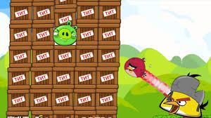 Angry Birds Cannon Collection 1 - BIRD VS 100 TNT AND KING PIGS ...