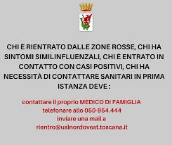 AGGIORNAMENTI COVID-19 - 15 Marzo 2020 - Comune di Volterra