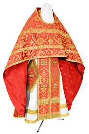 liturgical russian priest vestments