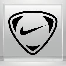 Simple Color Vinyl Nike Soccer Logo Stickers Factory