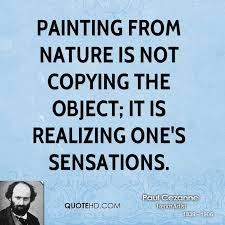 paul cezanne nature quotes quotehd