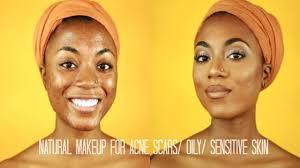 natural makeup for acne s