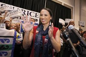 Sharice Davids, a lesbian Native American, makes political history in Kansas