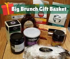 organic gift basket big brunch