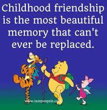 i cherish all the cute meaningful childhood friendships i had