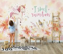 Bacal Custom Mural Wallpaper For Kids Room 3d Cartoon Horse Animal Pink Princess Room Girls Room Wall Decor Photo Wall Painting Hd Wallpapers With High Resolution Hd Wallpapersxxx From Vvsong 19 1 Dhgate Com