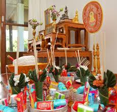 thai housewarming ceremony monks