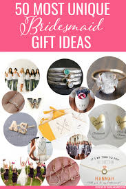 best bridesmaid gifts for 2020 weddings