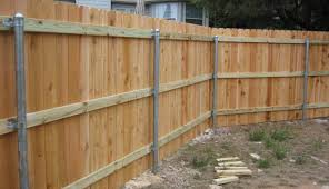 Low Cost Wood Fences A Better Fence Company Basic Wood Fence