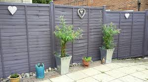 Love The Colour Of My New Fence Lavender By Cuprinol Garden Shades A Really Smokey Lavender Which Cuprinol Garden Shades Garden Fence Paint Garden Fence