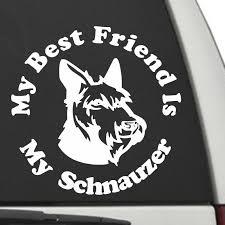 5 75 I Love My Schnauzer Vinyl Decal Sticker Dog Ushirika Coop