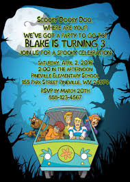 Print It Yourself Scooby Doo Invitaciones Impresas Foto Etsy