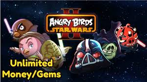 Angry Birds Star Wars II Unlimited Money and Gems Mod No Root ...