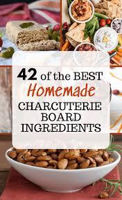homemade charcuterie board ings