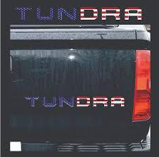 2014 2015 Tundra Tailgate American Flag Stars Stripes Vinyl Decal Graphics Gulf Coast Decals