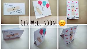 get well soon card 1 craft for kids
