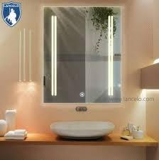 bath mirrors type illuminated feature