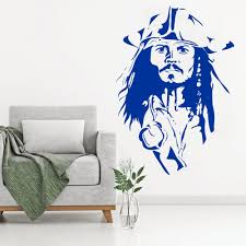 Floral Wall Decals With Name Baby Pirate Art Softball Design And Mermaid Princess Custom Vinyl Vamosrayos