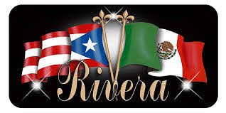 Amazon Com Puerto Rico Mexico Unity Flags Personalize Vinyl Decal Sticker Puerto Rican Latino Mexican Handmade