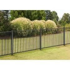 2 5 Ft H X 4 7 Ft W Madison No Dig Garden Fence Panel Garden Fence Panels Fence Panels Backyard Fences
