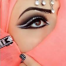 arabian eye makeup tutorials with step