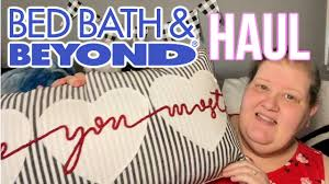 Bed Bath and Beyond Online Haul - YouTube