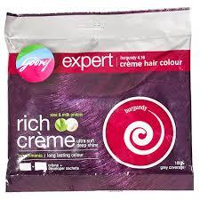rej expert creme hair colour