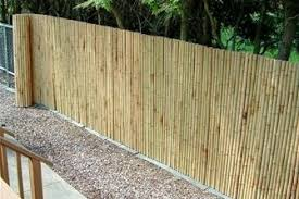 Bamboo Rolled Fencing Landscaping Network Backyard Fences Backyard Privacy Backyard Makeover