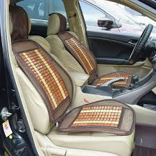 1x universal bamboo car seat cover cool