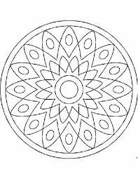 Kleuren Nu Zonnen Mandala Kleurplaten