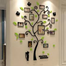 Acrylic 3d Family Photo Frame Tree Wall Stickers Removable Diy Art Wall Poster Decals For Living Room Bedroom Home Decoration Y200102 Letter Wall Decals Letter Wall Stickers From Shanye09 44 19 Dhgate Com