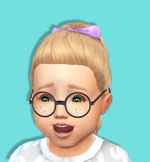 Baby Bowed Pony Tail Toddler Hair Kids Room Stuff Conversion Bgcdownload Sfs Db I Tried To Make It Bg Toddler Hair Sims 4 Sims 4 Toddler Toddler Hair