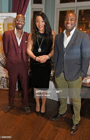 Byron Cole, Bianca Miller - Cole and Ronald Ndoro attend the launch... News  Photo - Getty Images