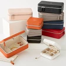 small travel jewelry case foil