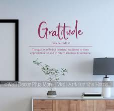 Attitude Of Gratitude Wall Decor Wall Decor Plus More