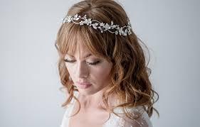modern wedding hair band headband