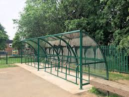 Easydale Cycle Shelter Bike Shelter Cost Effective Compact Ideal For Schools